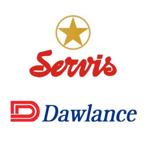 Servis & Dawnlance -logo