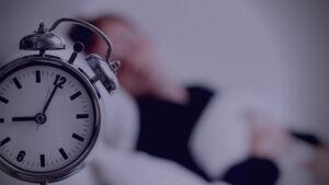 Sleeping early at night